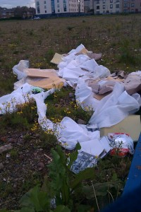 Fly tipping blight